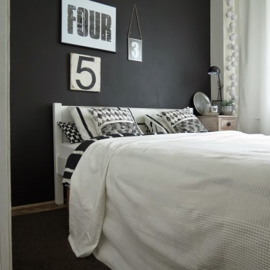 Moja sypialnia po niewielkim liftingu &#x3B;-)