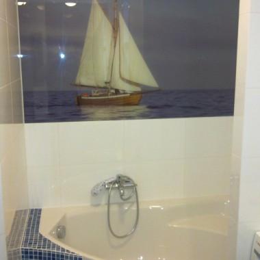 łazienka pod żaglami