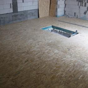 Podłoga na drewnianych legarach
