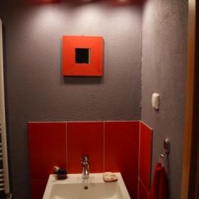 Łazienka czerwona