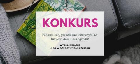 """Konkurs: Wygraj książkę """"Rok w ogrodzie"""" Dana Pearsona WYNIKI"""