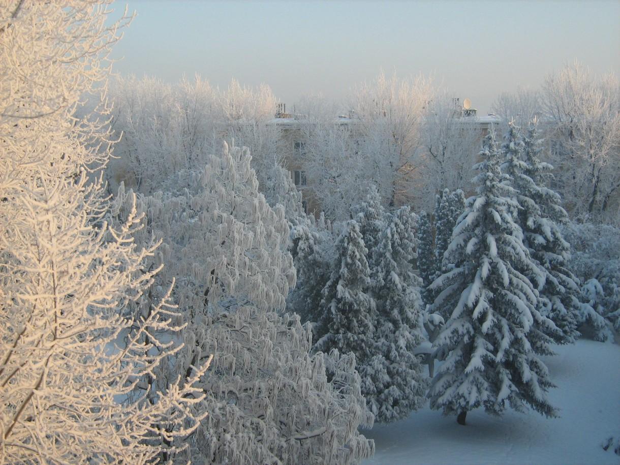 Zimowo i śnieżnie &#x3B;)