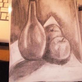Moje rysunki węglem ,wprawki jedne lepsze drugie ,gorsze ...