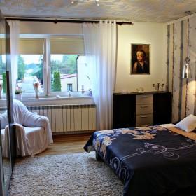 Sypialnia po poprawce &#x3B;) dom na wsi.