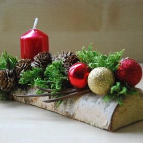 Świąteczne dekoracje...