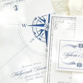 Zaproszenie ślubne - Projekt Oceania