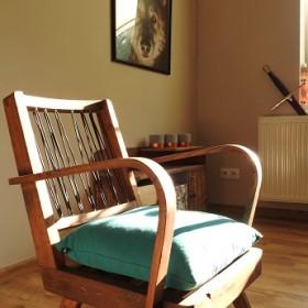 uratowany od zapomnienia - renowacja fotela