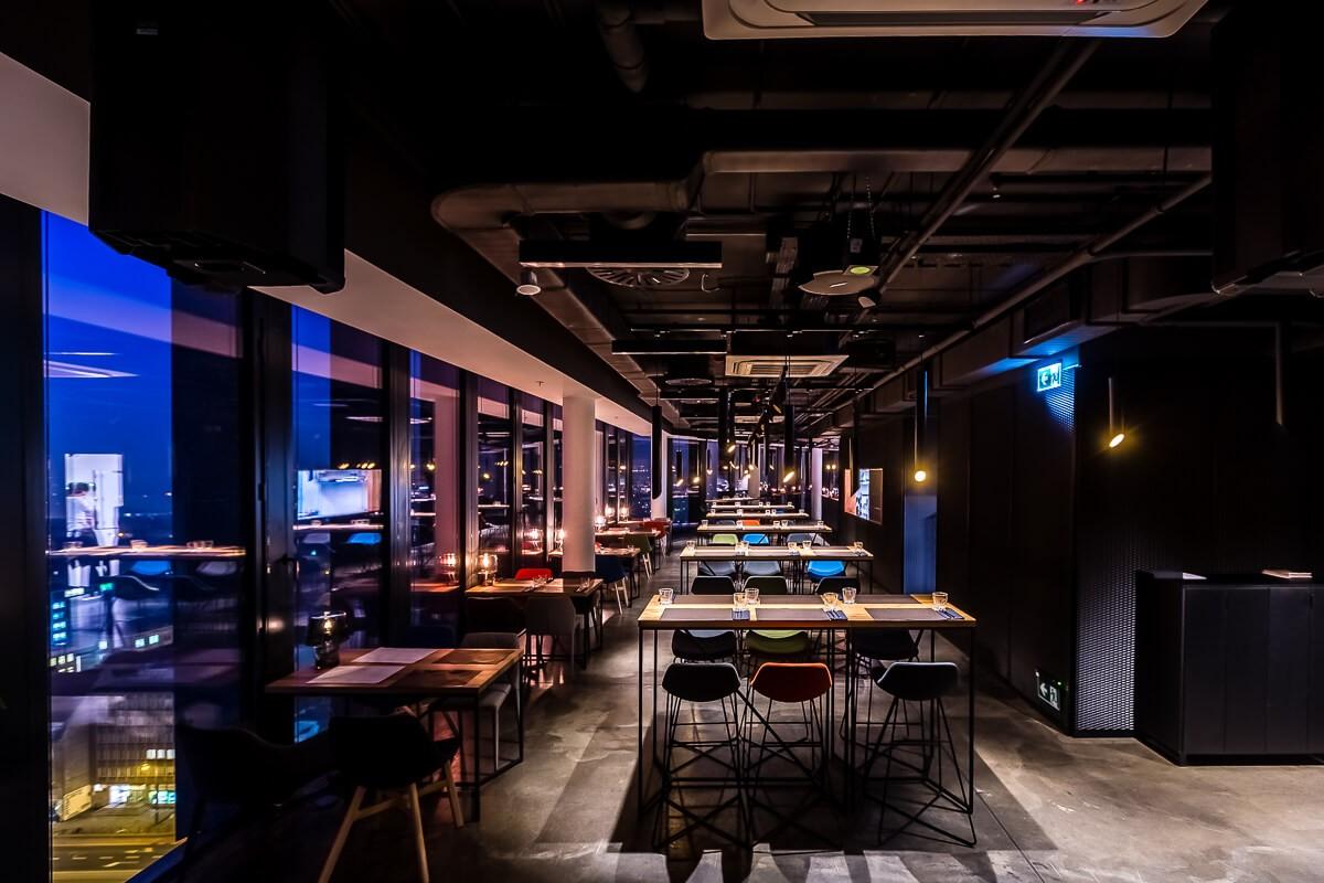 Dekoratorzy, Meble do restauracji MUS Bar&View/ Poznań