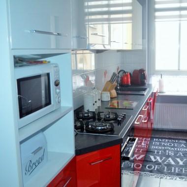 Biało czerwona kuchnia