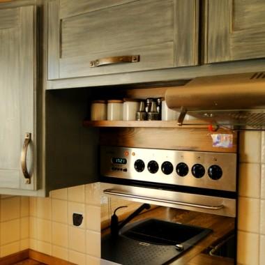 Stylowa kuchnia drewniana