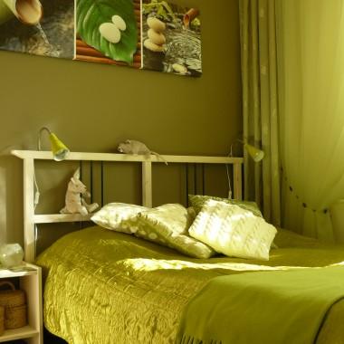 Mieszkanie w wielkiej płycie - sypialnia