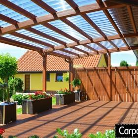 Zadaszenia pergole drewniane Carport Planet