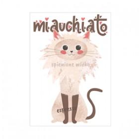 Kawa z kotem - miauchiato