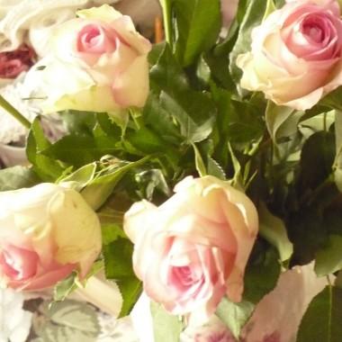 ...............i różowe róże..............