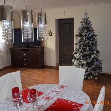 Nowa lampa w salonie :)
