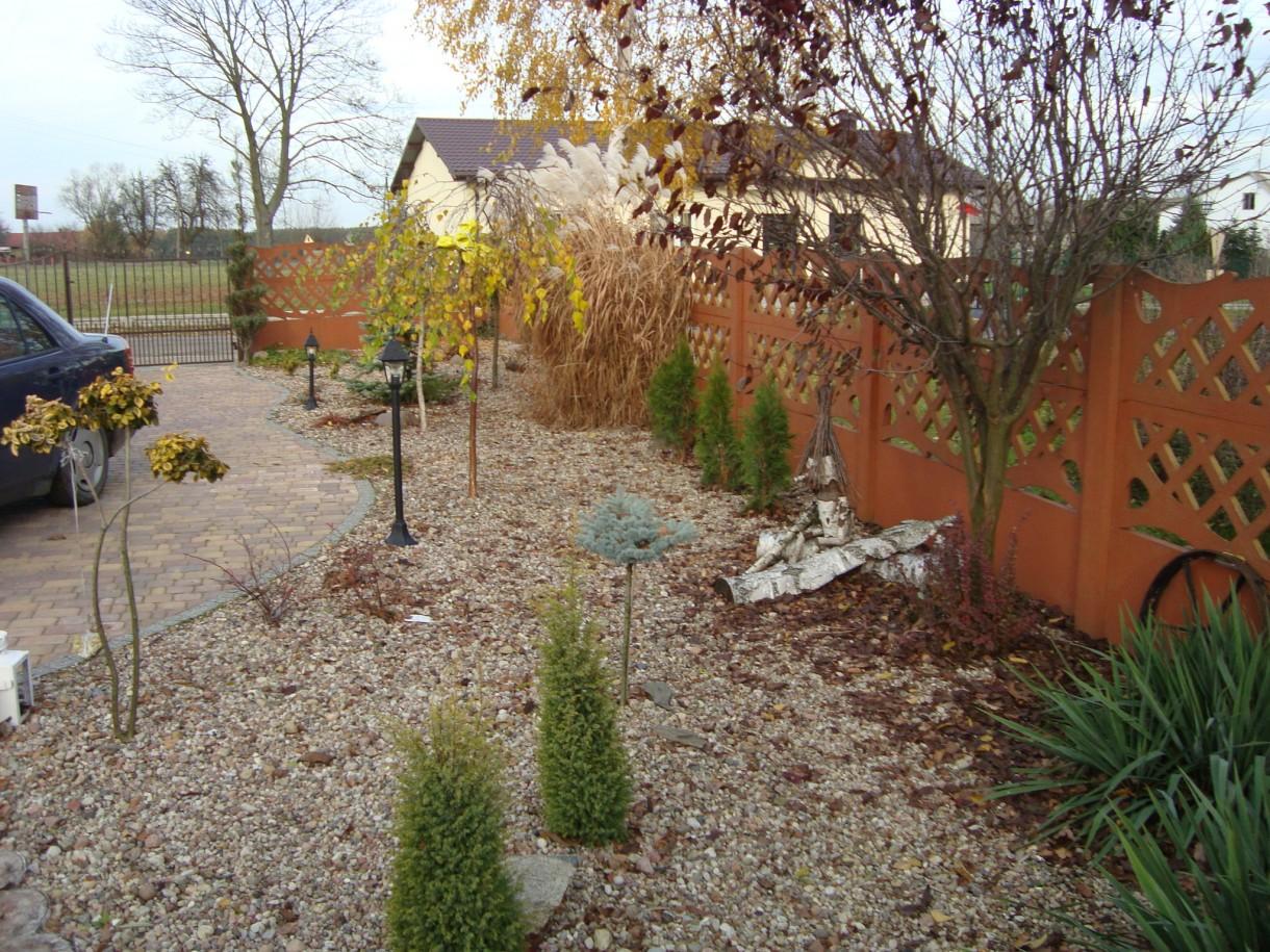 Pozostałe, Mój ogród jesienią