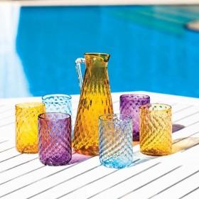 stylowe dzbanki Mdina Glass