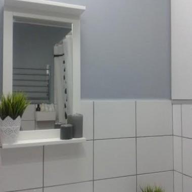 Blokowa łazienka