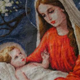 Maryja i anioły :)