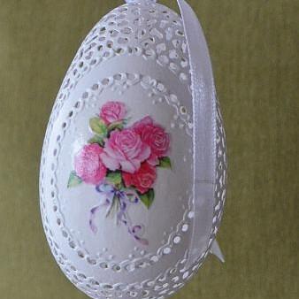 Ażurki pisanki- jajka ażurowe od Justyny