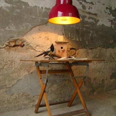 BORDEAUX VIOLET PENDANT INDUSTRIAL LAMP