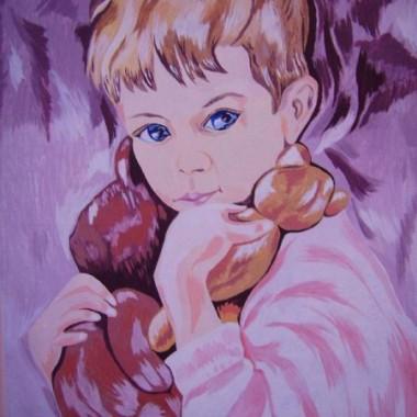 mój nowy obraz Dziecko