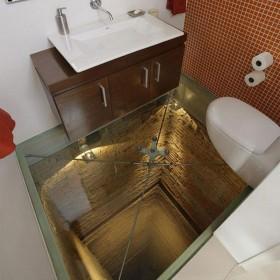 Toaleta w szybie........