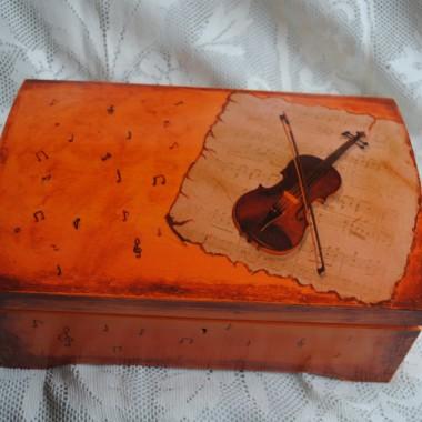 pudełka decoupage