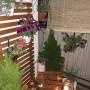 Balkon, Mały ogród na drugim piętrze:) - kiedy już słoneczko zachodzi...
