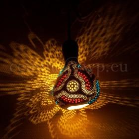Tykwa, Lampa z Tykwy, Lampy z Tykwy, Rękodzieło