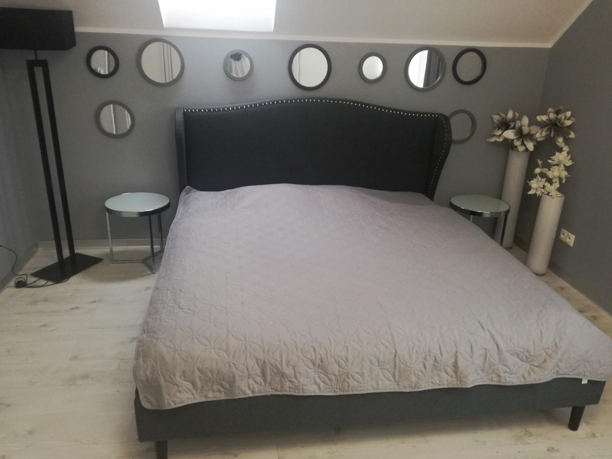 Sypialnia Biało Szara Deccoriapl