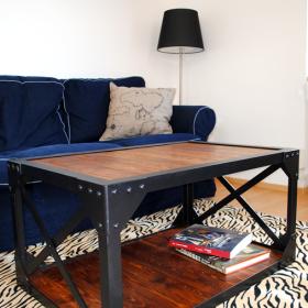Stół niski z naszej serii Loft