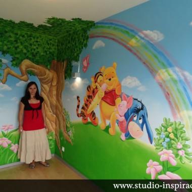 Malowanie pokoi dziecięcych- Aranżacja wnętrz - Dekoratorka