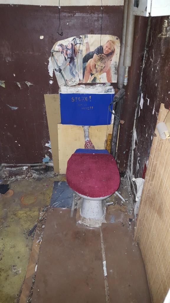 Pozostałe, Kawalerka niespełna 20 metrów - walka trwa ... - łazienka