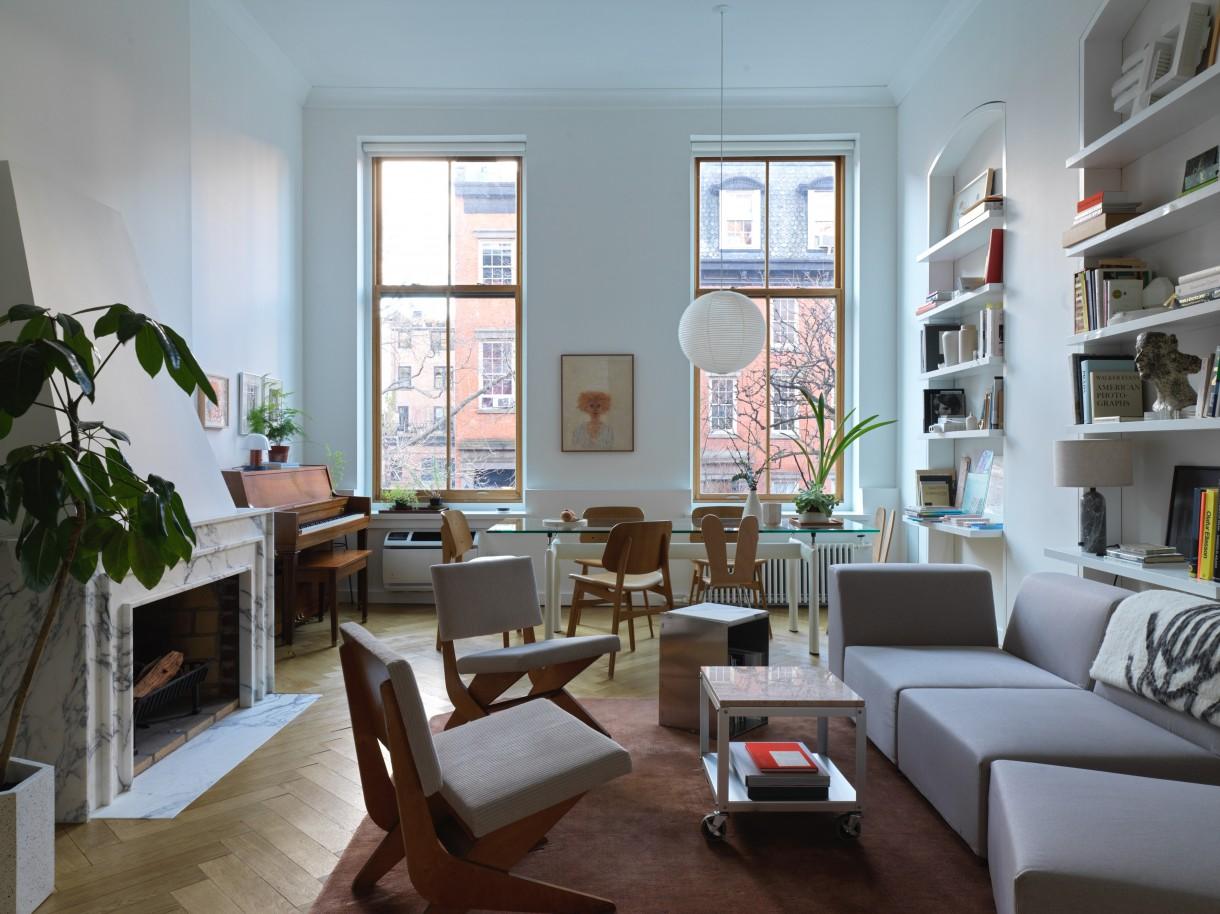 Domy i mieszkania, W mieszkaniu architektów