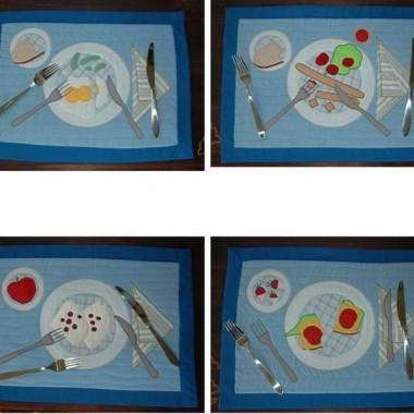 podkładki śniadaniowe