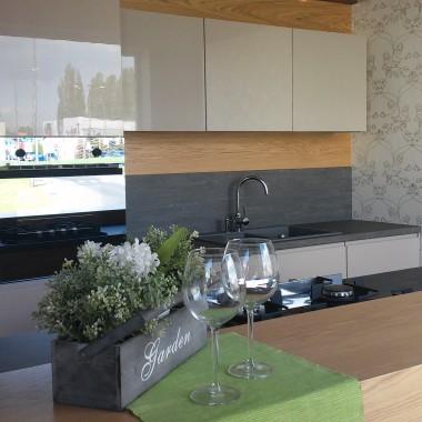 Betonowy blat w kuchni