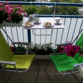 Odpoczynek na balkonie