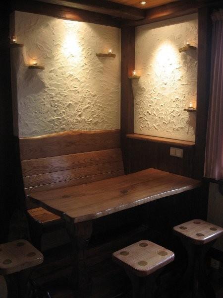 Pozostałe, kuchnia - miejsce posiłków w kuchni..niezbyt duże ale dla 3 osób wystarcza:)
