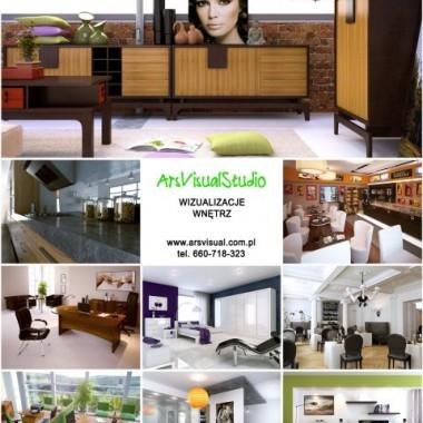 ArsVisual - Wizualizacje mebli wraz z projektem wnętrza