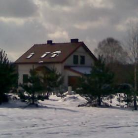 Domek z zewnątrz