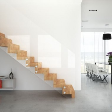Moda na szklane schody