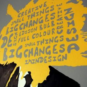 Kreatywne malowanie ścian MURAL