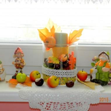 Ozdoby jesieni w domu