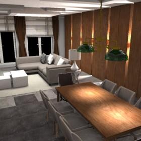 Dom w Markach - Salon opcja 1