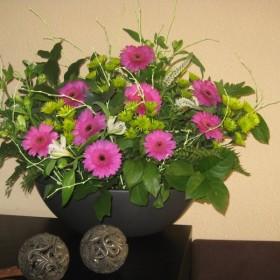 Moje kompozycje kwiatowe