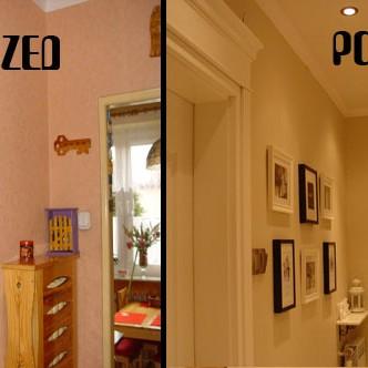 Przedstawiam Wam zmiany jakie dokonały się w moim mieszkaniu pod wpływem deccorii