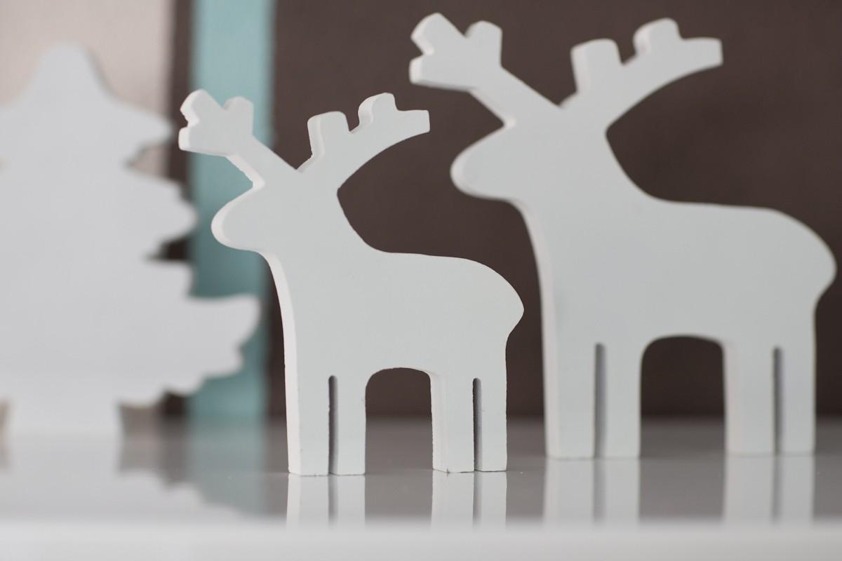 Pozostałe, Miętowy salon w świątecznej odsłonie... - I rodzinka reniferkow...