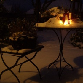Biała,sniegowa pierzynka:)