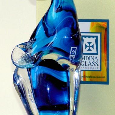 Figurki szklane wykonane ręcznie Mdina Glass